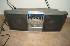 Vintage Boombox General Electric Ge 3-6035A Am/Fm Radio Cassette Receiver