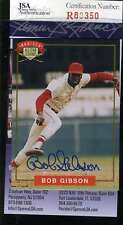 BOB GIBSON 1994 NABISCO ALL STARS Hand Signed JSA Certified Autographed