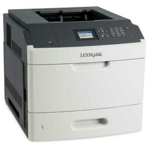 Lexmark MS817dn Mono Duplex A4 Printer, Very Low Page Count