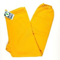 Discus Athletic Vintage 90s Yellow Jogger Sweatpants MADE IN USA Size LARGE