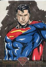 DC Superman The Legend Sketch Card By JC Fabul