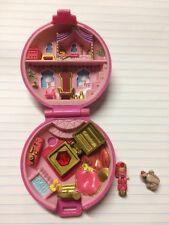 Vtg Polly Pocket Jeweled Palace Princess COMPLETE W/minor Damage  Jewel 1992