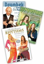 Drum Solo - How To Drum & How To Dance, 3 belly dance DVDs