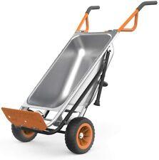 WORX WG050 Aerocart 8-in-1 Wheelbarrow / Yard Cart /Dolly Makes Yard Work Easier