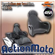 Seggiolino posteriore scooter per bambino Givi Kappa KS650 S650 universale