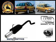 SILENCIEUX POT D'ECHAPPEMENT RENAULT CLIO II 1998-2002 2003 2004 2005 TIP 120x80
