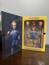 """NECA Chucky Good Guy Doll Child's Play Ultimate 4"""" Action Figure 1:12 Scale"""