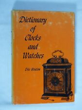 Book Vintage Clock Watch Parts Repair Dictionary of Clocks and Watches 1963