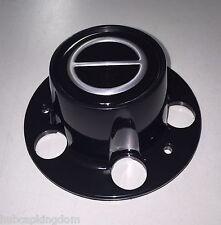 BRONCO II RANGER EXPLORER Wheel BLACK Center Hub Cap NEW w/ Screws