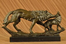Close Out Cub Animal Wild Life Bronze Sculptre Art Figure Statue Figurine