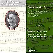 Jose Vianna da Motta - José Vianna da Motta: Piano Concerto in A major; Fantasia