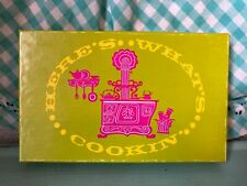 Vintage Current Recipe Cards 1960's 1970's Kitchen Housewife Kitsch Flowers