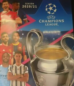 TOPPS 2020/21 UEFA CHAMPIONS LEAGUE OFFICIAL STICKER COLLECTION SHK 1 TO  WOM 1