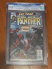 Black Panther v2 #23 CGC 9.8 WP Cat Trap Part 2