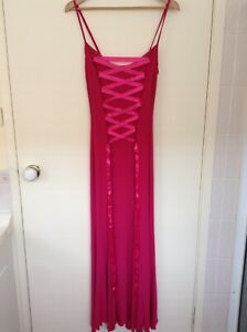 KITTY Women Formal Cocktail front splits summer dress - Size XS - New condition