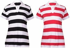 Collared Striped Casual Tops & Shirts Plus Size for Women