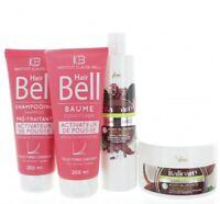 Hyaluronique Huile de Noix Coco Cacao Shampooing & Masque + Hairbell &
