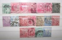 "FRANCOBOLLI STAMPS CAPE OF GOOD HOPE ""GOOD STAMPS OF VERY FINE"" USED LOT (CAT.8)"