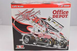 2009 Tony Stewart Old Spice Office Depot Dirt Sprint Midget Diecast Car R&R 1/25