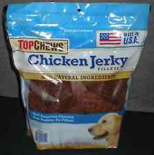3 LBS of Tyson Chicken Jerky Fillets 100% Natural All American Dog Treats