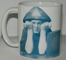 ALEISTER CROWLEY - RARE COLLECTABLE 11oz MUG  FEATURING  STUNNING IMAGE & QUOTE