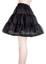 """Fancy Gothic Lolita Tutu Falda Vintage 18"""" L"""