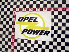 Opel poder adhesivo-Opel Manta Monza Kadett Senador Gt