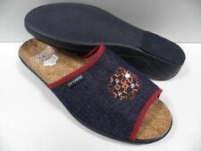 Chaussures LA VAGUE fuego bleu marine FEMME taille 42 chaussons été ouverte NEUF