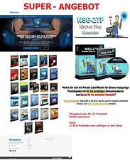 Shop Generator für 27 Artikel - Mobile optimiert + 27 PLR Produkte TOP ANGEBOT