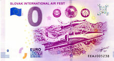 SLOVAQUIE Sliač, International Air Fest, 2018, Billet 0 € Souvenir