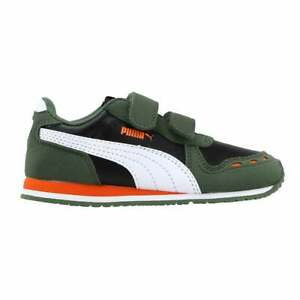 Puma Cabana Racer Sl  Slip On  Toddler Girls  Sneakers Shoes Casual   - Green -