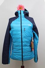 NWT The North Face Woman's Zephyrus Pro Insulated Jacket Navy Blue/Turquois Sz M