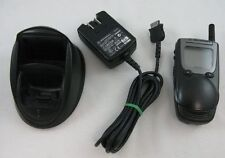 Motorola NexTel i1000 Plus Flip Phone Bundle Nextel + Charger + Power Supply