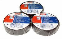3x TESA Isolierband 4252 kfz 15mm x 10m Klebeband Iso Tape Isoband Band
