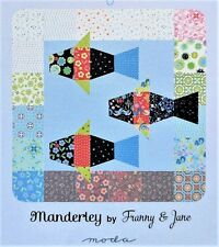 Manderley QUILT KIT -  Pattern & Moda Fabric // Easy Beginner Quilter Project