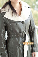 Faux Fur Leather Dry-clean Only Coats & Jackets for Women
