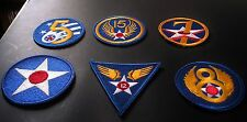 (6) Vintage Authentic Military Patches