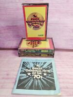 Great Original Hits of the 70s Readers Digest 3 Cassettes Program Notes Vintage