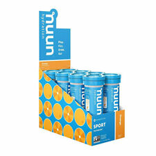 nuun Sport Electrolyte Tablets Box of 8 Tubes Orange