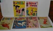 Lot of 6 Harvey Comic Books Casper, Wendy, Audrey, Dot Dot land 1966 - 71