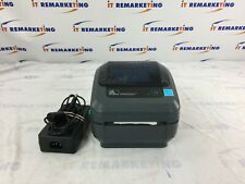Zebra GX420d USB Thermal  Label /Barcode Printer w/ Power Supply