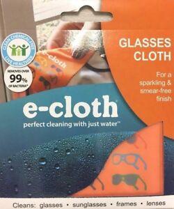 E-Cloth Cleaning Cloth for Eyeglasses Lenses Glasses Electronics e cloth 2 PACK!
