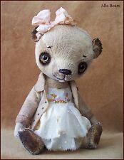Alla Bears artist bear art doll garden flower love toy baby