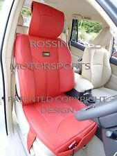 i - TO FIT A TOYOTA VERSO CAR, SEAT COVERS, YMDX RED, SB BUCKET SEATS