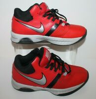 Nike Air Visi Pro 5 Size UK 5.5 Red Black and Silver