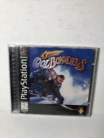 Cool Boarders (Sony PlayStation 1, 1997) PS1 Black Label Complete CIB Tested