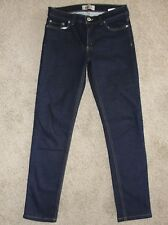 New Womens Naked & Famous Jeans Sz 29 Dark Wash The Skinny Ultra Soft Denim