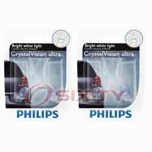 2 pc Philips Front Side Marker Light Bulbs for Kia Amanti Forte Forte Koup yy