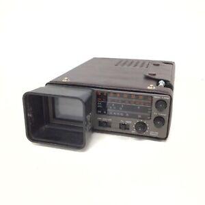 Vintage Unisonic Portable TV/ Radio SOLD AS PARTS #407