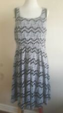 WOMEN'S PLUS SIZE TORRID BLACK/IVORY  LACE SKATER DRESS  SIZE 12 MSRP $68.50